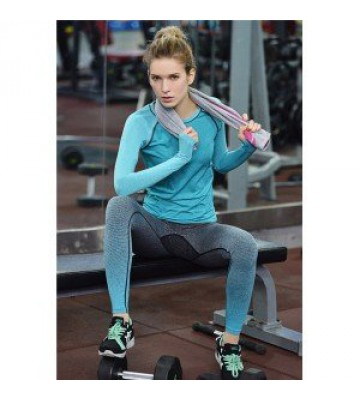 Лосины с градиентом для фитнеса