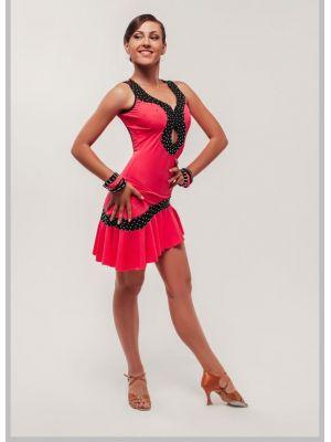 Купить платье для бальных танцев латина (без отделки) №284/1