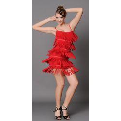 Плаття латина з бахромою Fen №152