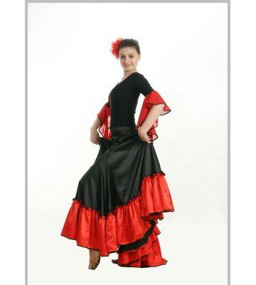Юбка Фламенко №750 и Блуза №310