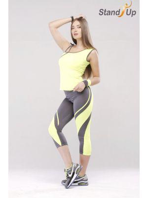 Майка для фитнеса Асиметрия Fen №7026