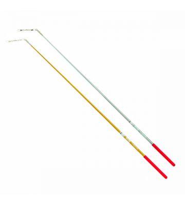 Палочка гимнастическая для ленты цвета металлик Chacott (65508), 60 см.