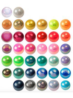 М'яч гімнастичний New Generation Glitter Pastorelli, 18 см (частина 1)