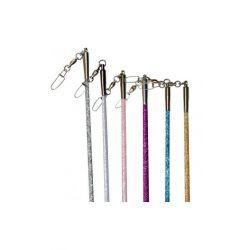 Палочка гимнастическая для ленты Glitter Pastorelli, 59.5 см
