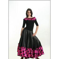 Юбка фламенко №750 и блуза №300