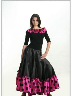 Спідниця фламенко №750 і блуза №300