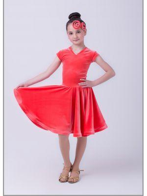 Платье рейтинговое № 800/1 велюрове (мысик)