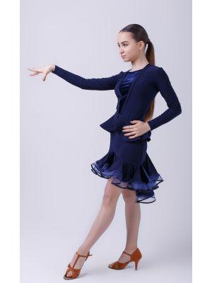 "Блуза Fen №356/1 ""Леді"" (обробка велюр)"