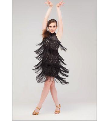 """Платье с бахромой """"Калифорния"""" №218"""