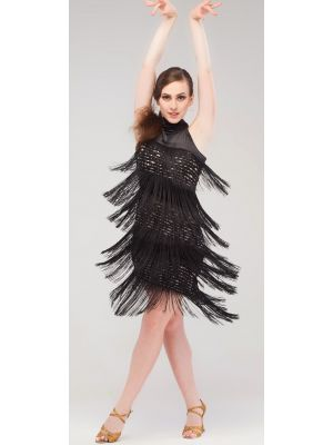 """Сукня латина з бахромою """"Каліфорнія"""" №218"""