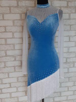 """Плаття латина з обробкою """"Манхеттен"""" №286"""