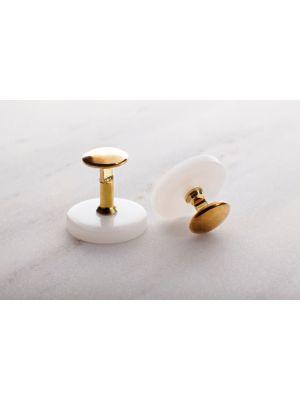 Гудзики для пластикового комірця, золото Chrisanne Clover