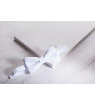 Бабочка фрачная белая Chrisanne Clover