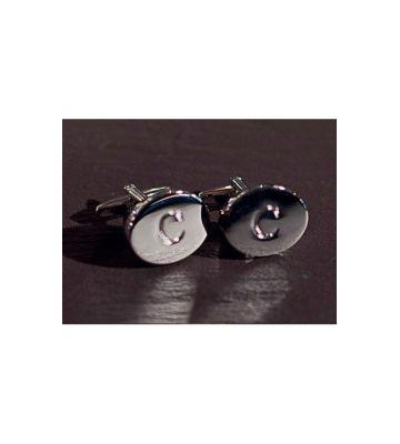Запонки фрачные  серебро Chrisanne Clover