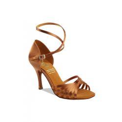Обувь женская для латины Supadance  1166, Dark Tan Satin