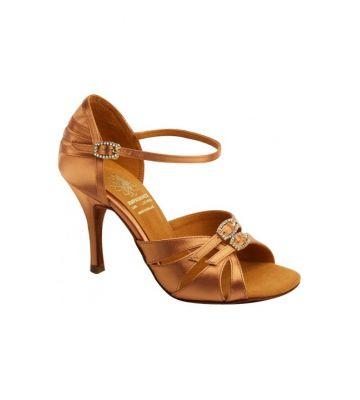 1b1b0f5d032669 Взуття жіноче для латини Supadance 1057, Dark Tan Satin ...
