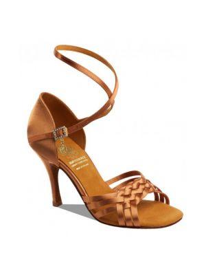 Взуття жіноче для латини Supadance 1178, Dark Tan Satin
