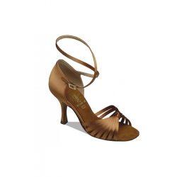 Взуття жіноче для латини Supadance 1063, Dark Tan Satin