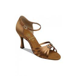 Обувь женская для латины Supadance  1516, Dark Tan Satin