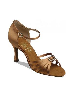 Взуття жіноче для латини Supadance 1516, Dark Tan Satin