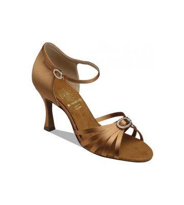 d47391cf761f77 Взуття жіноче для латини Supadance 1516, Dark Tan Satin ...