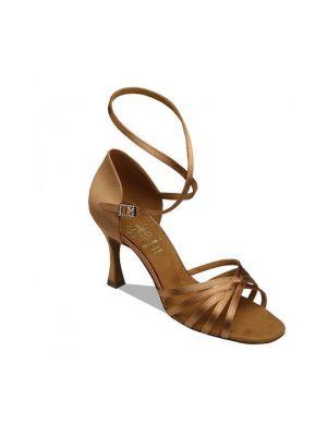Взуття жіноче для латини Supadance 1403, Dark Tan Satin
