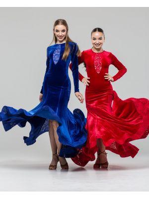 """Сукня для стандарту """"Олександрія"""" № 743/1"""