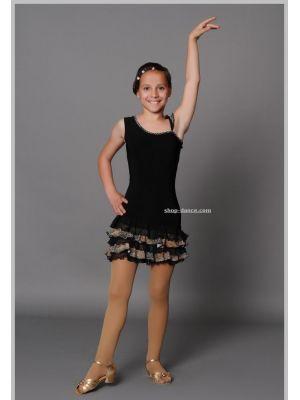 Сукня (сарафан) для латини дитячий Fen №17