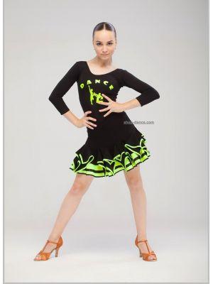 Купальник для тренувань з танців №1046 з малюнком