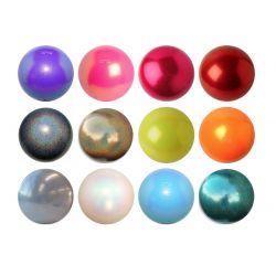 М'яч гімнастичний Pastorelli Glitter, 16 cм