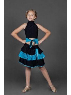 Блуза танцювальна №58/1 (гіпюр)