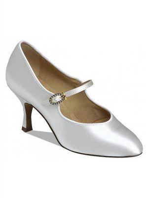 Supadance Обувь женская для стандарта 1012, White Satin