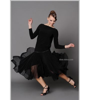 Юбка танцевальная №418