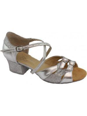 Взуття для дівчаток Club Dance: Б-3 срібло + блискітки
