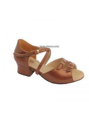 Взуття для дівчаток Club Dance: 73110-c бежева шкіра