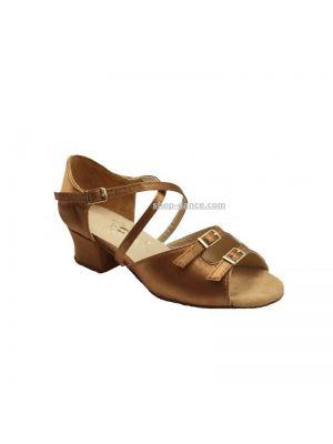 Взуття для дівчаток Club Dance: 73110-ф бежевий сатин