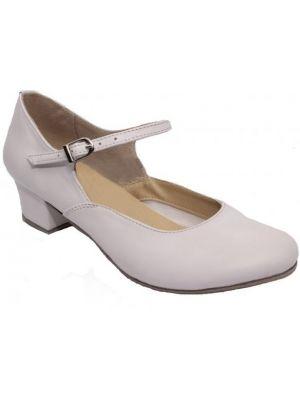 Туфлі для народних танців білі Club Dance: 84102 (Н-4)