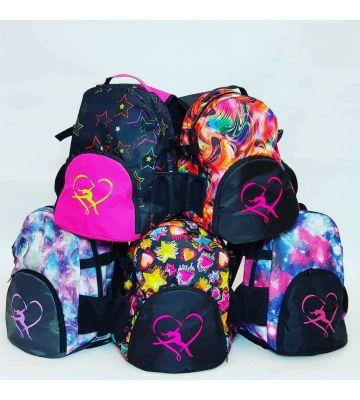 Рюкзак гімнастичний з кишенею для м'яча Пліє