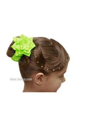 Гумка для волосся з квіткою