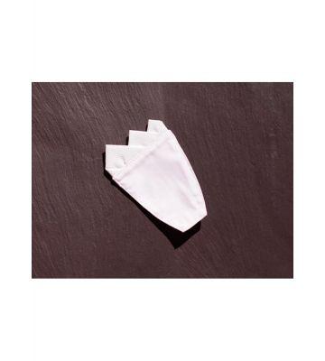 Платочек, белый фрачный Chrisanne Clover