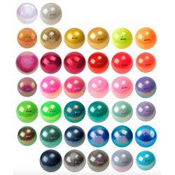 М'яч гімнастичний New Generation Glitter Pastorelli, 18 см (частина 2)