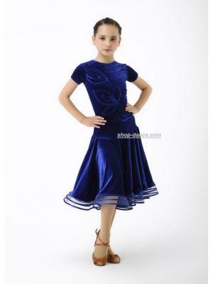 Платье рейтинговое (бейсик) №877