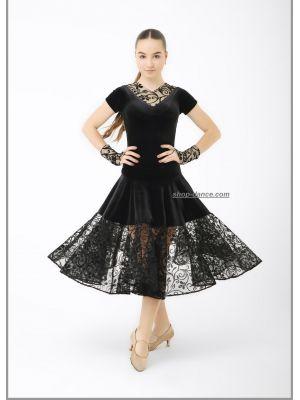 Платье рейтинговое (бейсик) №873