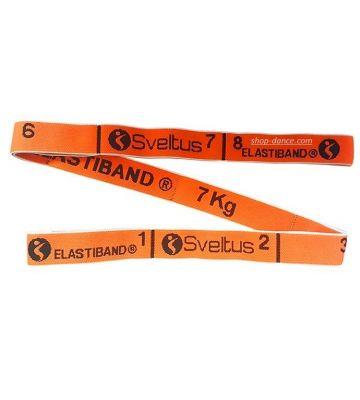 Резина для растяжки Sveltus Elastiband 7 kg Orange Art. S0144