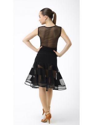 Блуза танцювальна №369 (сітка)