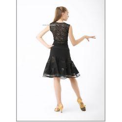 Блуза танцевальная №369/1 (гипюр)