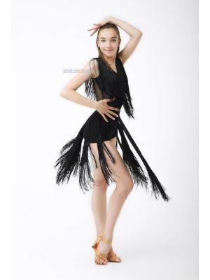 Спідниця для танців №468/1 (однот. бахрома)