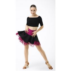 Спідниця для танців №470 (кольор. бахрома)