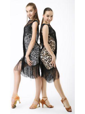 Сукня для латини №226 (сітка)