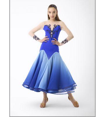 Платье для стандарта № 745 (с камнями)